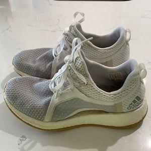 adidas Pure Boost X 2.0 Clima Grey/White Sz6.5